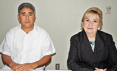Artemio Enríquez Espinosa, Marian Elena Barrera Bustillos.