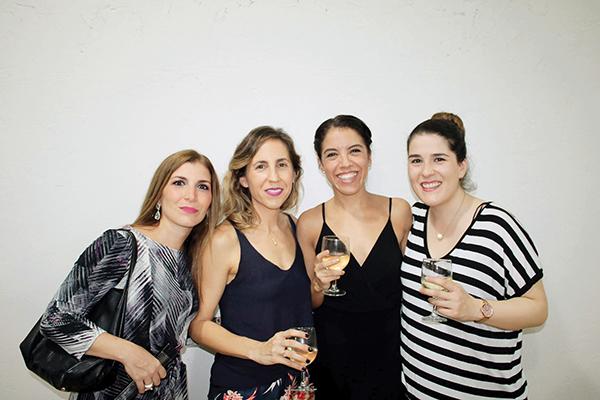 Yamel Levet, Cristina de la Peña, Mariana López, Cecy García.