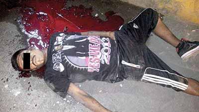 Asesinan a Barrio 18