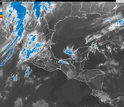 Vientos Fuertes y Tolvaneras se Prevén en el Noroeste de México