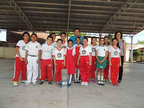 Campeones de Robótica en el Sureste, Niños de Tapachula