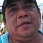 Declarante Pedro Solís E., presidente de Vig. De coloniasdel Sur Poniente de la Ciudad