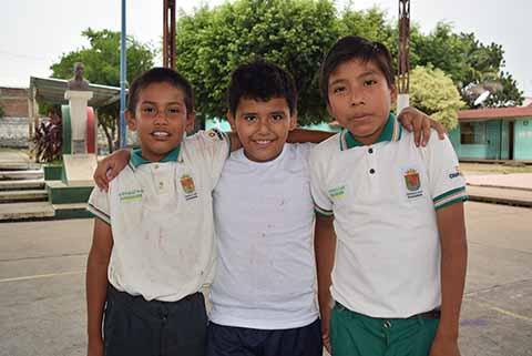 Benjamin Pacheco, Kevin Díaz, Juan Morales.
