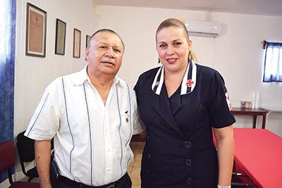 Roberto de los Santos, Karla Olmos.