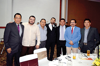 René Simón, Carlos Castellanos, Martín Nájera, Orlando Méndez, Hipólito Pérez, Henry Toledo.