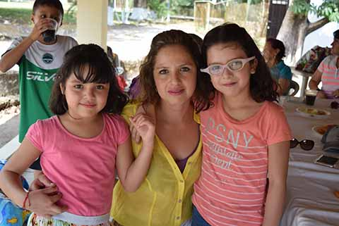 Ale Varela, Natalia, Fernanda Ancheita.