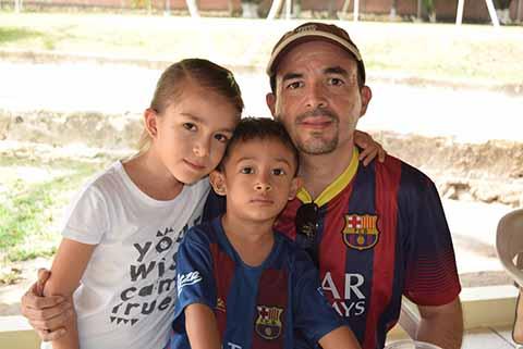 Ricardo, Andrea, Ricardo Gómez.