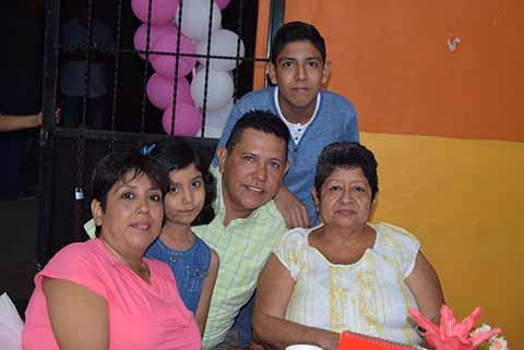Familia Jiménez Orozco.