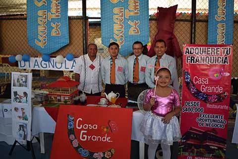 """Casa Grande"": Alejandro Villarreal, Iván Escobar, Darien Alberto, Adán López, Hannah López."
