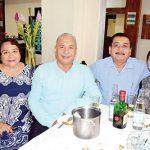 Ángeles Lugardo, Carlos Reyes, Mauricio Cordero, Flor Arreola.