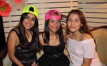 Citlalli Ruiz, Paulina Ramos, Susan Guzmán.