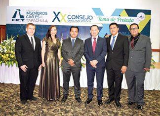 William Gutiérrez, Elizabeth Chang, Héctor Pinto, Carlos Rodríguez, Christian Cruz, Julio Gordillo.