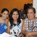 Danae, Génesis Prado, Norma Cué.