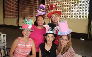 Fabiola Cruz, Sandra Ortega, Gabriela Castellanos, Alicia Gómez, Dinora Gómez.