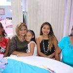 Reyna Hernández, Blanca Lidia, Jennifer López, Yolanda Rodríguez, Allison Murillo.