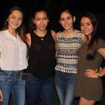 Jessica Domínguez, Priscila Flores, Mariel Ordaz, Montse Fierros.