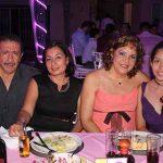 Virginia Ocampo, Julio Gálvez, Carlina Escobar, Alexa Méndez.