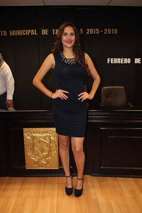 Grecia Esparza Nieto, reina del Carnaval.