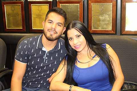 Luis Nava, Claudia Melgar.