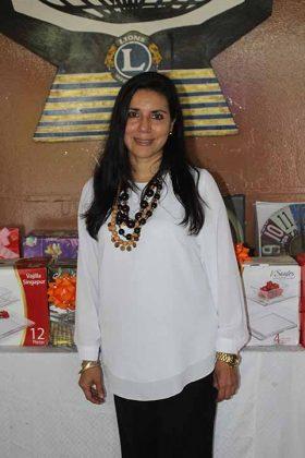 Izveth Tello de Guzmán, presidenta del Voluntariado de la Jurisdicción Sanitaria VII.