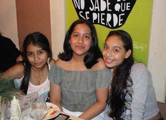 Gabriela Cordero, Daniela Martínez, Nina Lagunes.