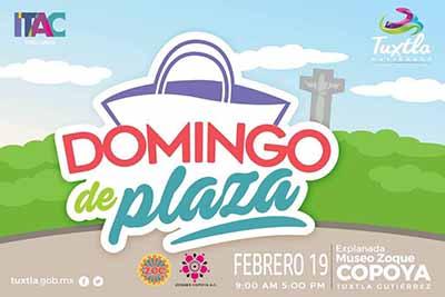 """Fomenta Fernando Castellanos Gastronomía Zoque Mediante """"Domingo de Plaza"""" en Tuxtla"""