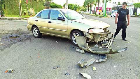 Fuerte Accidente Frente a Soriana