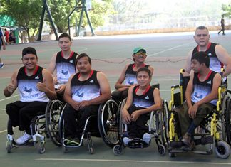 Inauguran Liga Municipal de Basquetbol Sobre Silla de Ruedas