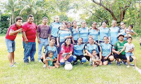 Este Sábado, Inauguración del Torneo Femenil de Futbol