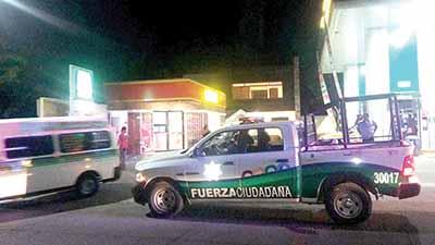 15 mil Pesos el Botín en Atraco a Gasolinera