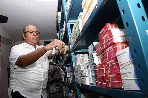Dan fe Notarial del Abasto de Medicamentos en Farmacia del Ayuntamiento en Tuxtla Gutiérrez