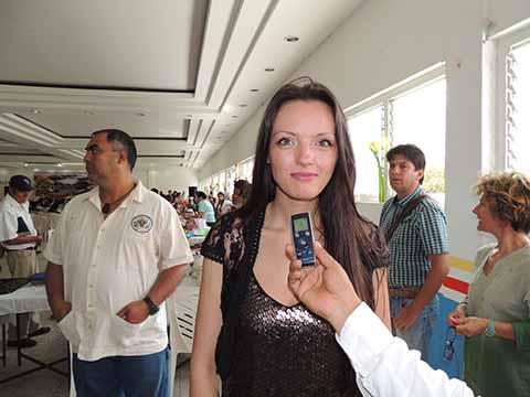 Cristina Anamatia Nistor, de Millenium Center Rumania.