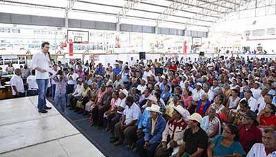 En Chiapas Honramos y Reconocemos a los Adultos Mayores con la Entrega de Apoyos Económicos: MVC