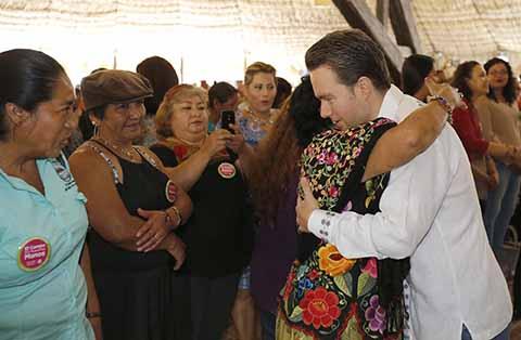 Invertirán 360 mdp en Apoyos a Mujeres del Campo