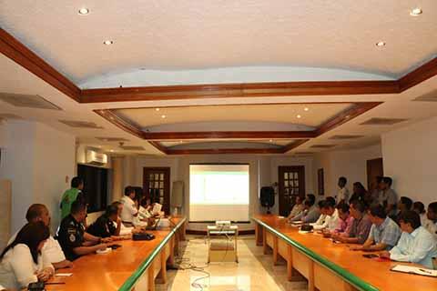 Autoridades de los tres niveles de gobierno y el Consejo Regional de Protección Civil, realizaron la primera Sesión Ordinaria por la temporada de estiaje en la región.