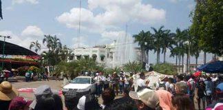 Protestas en Chiapas Para Exigir Esclarezcan el Caso Ayotzinapa