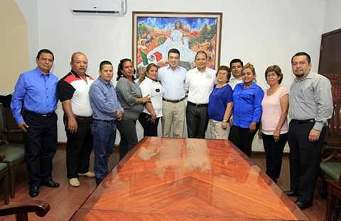 Se Reúne Rutilio Escandón con Alcalde de Cacahoatán