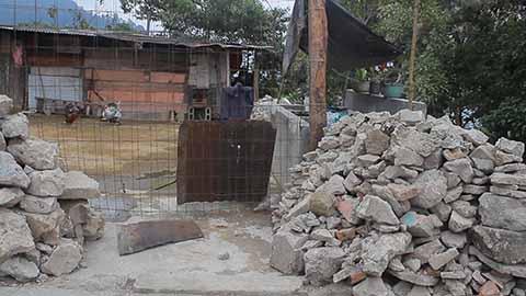 Habitantes de Talquián aún Esperan Construcción de Viviendas
