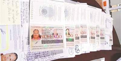 Detectan TVR Falsas en la Frontera Sur