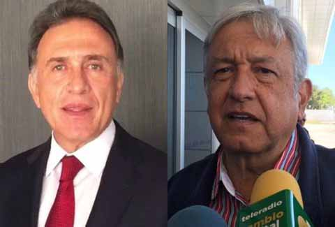 Yunes Reta a Debate a López Obrador
