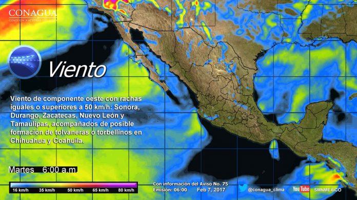 Lluvias Para Veracruz, Tabasco y Chiapas