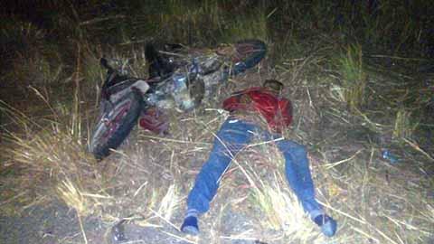 Motociclista Falleció Arrollado