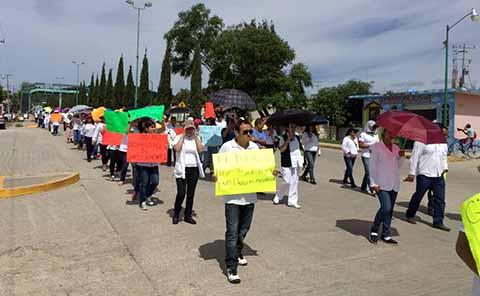 Secretaría de Salud Respeta Libre Manifestación de Trabajadores