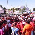 Organizaciones, obreros y sociedad civil volvieron a expresar su inconformidad contra el aumento al precio de los combustibles y Reformas Estructurales.