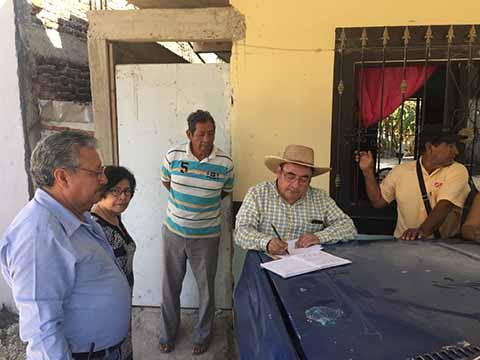 SMAPA Atiende Demandas Añejas de Colonos de San José Terán: Fernando Castellanos