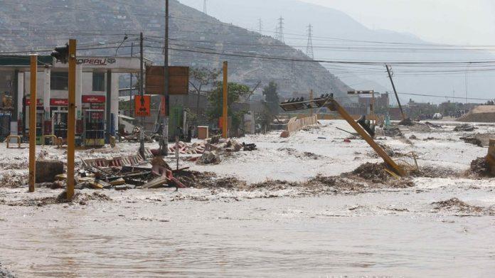 Lluvias Azotan Perú Dejando a su Paso 75 Muertos y más de 99 mil Damnificados