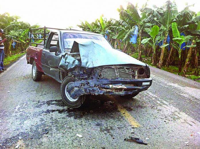 Dos Lesionados en Accidente Automovilístico