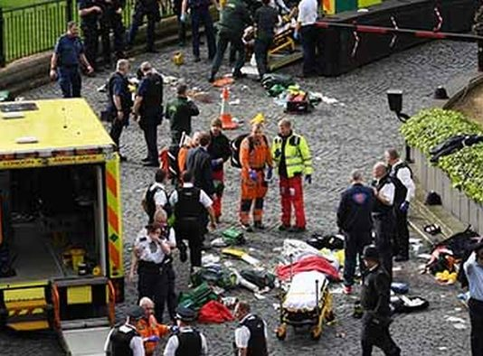 Conmociona al Mundo Atentado Terrorista en Gran Bretaña; Registran 5 Muertos y 40 Heridos