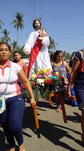 Celebran al Patrono San José en la Barra.