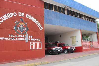 Bomberos de Tapachula y Cacahoatán Acuerdan Cooperación Interinstitucional